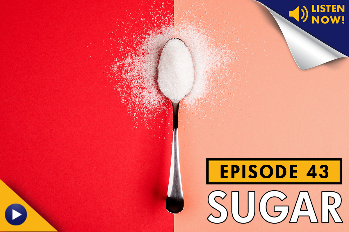 Living Healthy Podcast, LA Fitness, Sugar, Is Sugar Bad For You, Diet, Soda, Diabetes