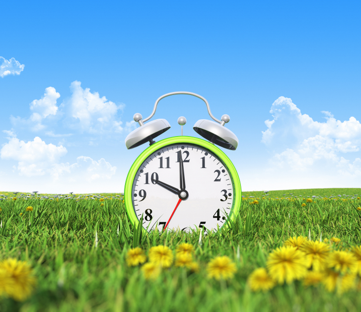 Time to Spring your Clocks forward again