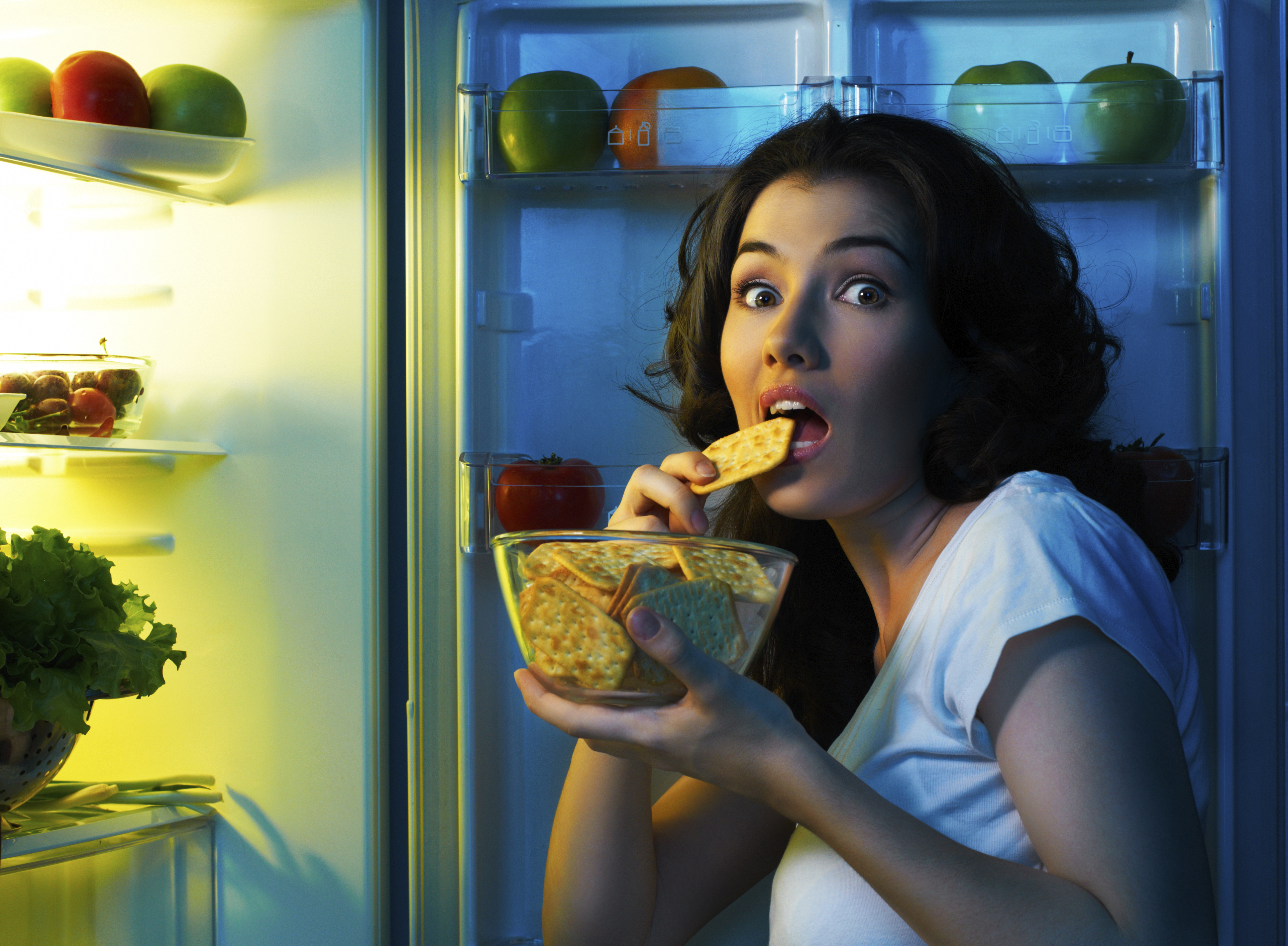 Should I avoid eating in the middle of the night, and also ...