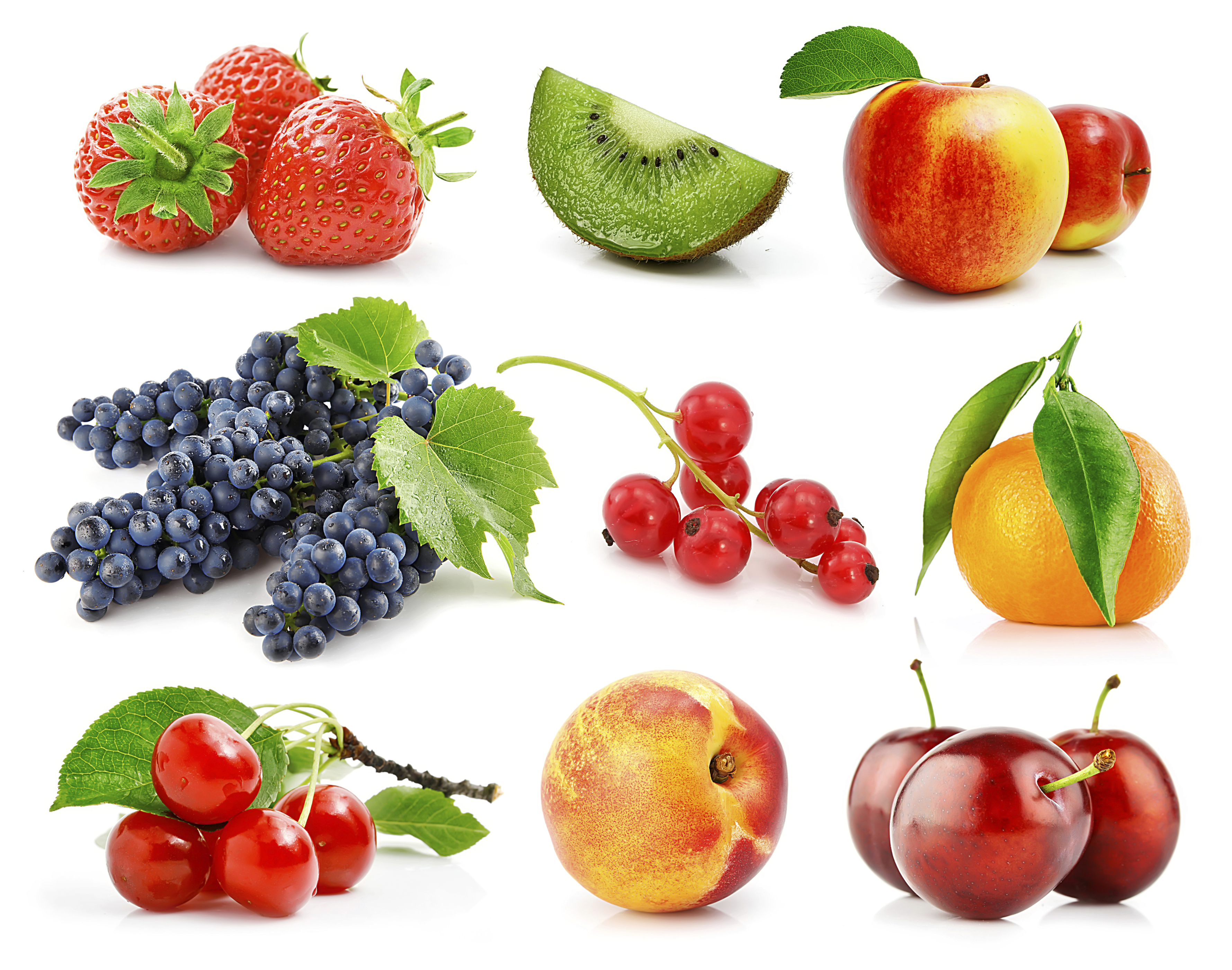 High and low sugar fruit info at Living Healthy