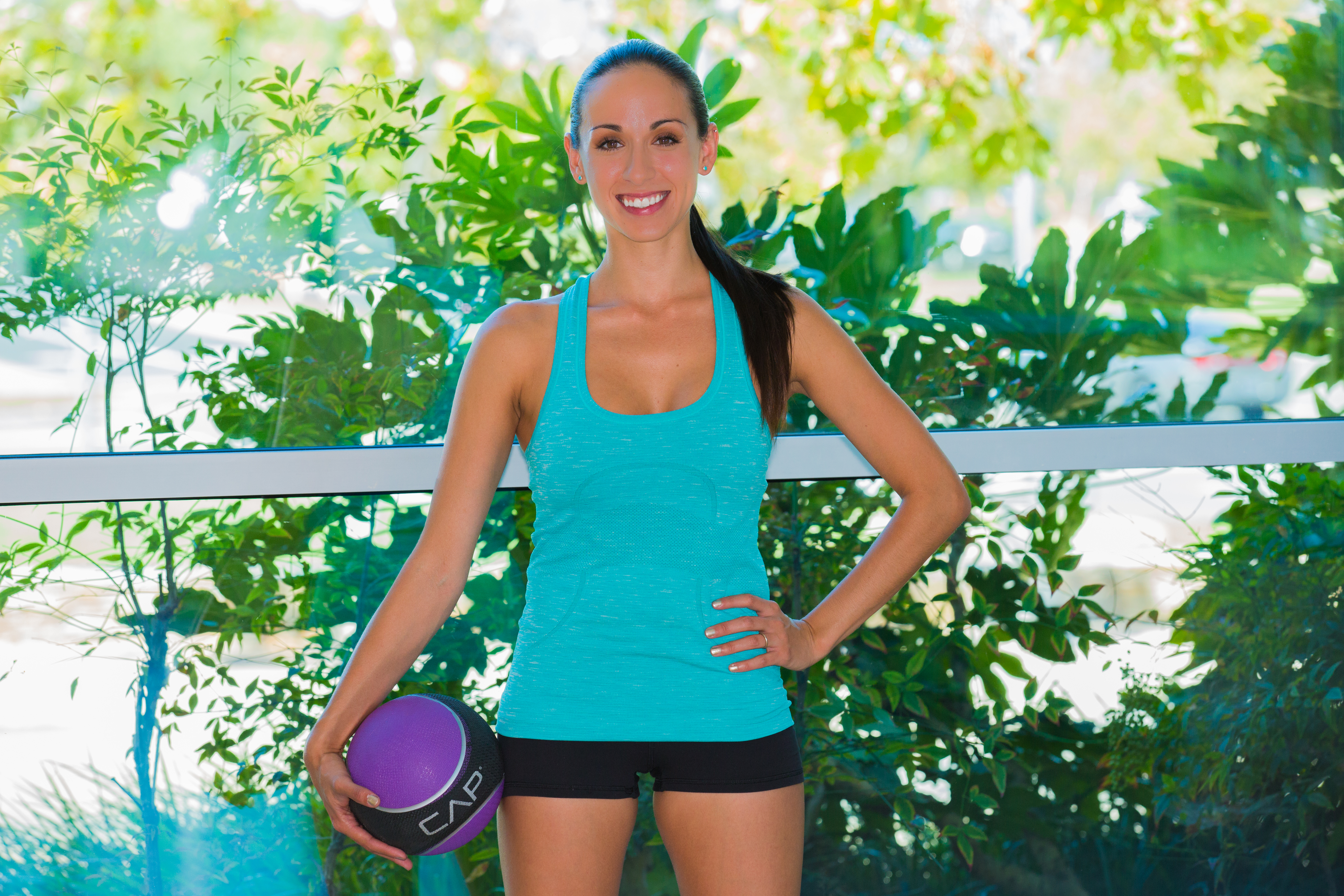 COVER PHOTOT Plyo med ball exercises at LA Fitness