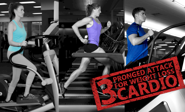 The 3 Pronged Attack for Weight Loss – Cardio