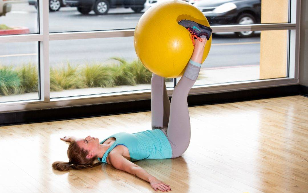 How to do a Stability Ball Pendulum