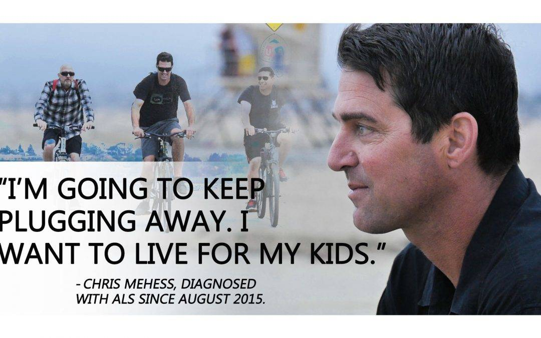 Chris Mehess Sits Down to Talk ALS, His Diagnosis and The Upcoming 'Take Action for ALS' Event