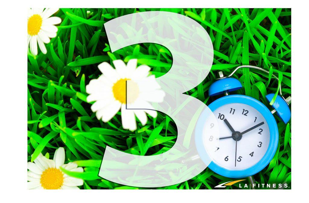 3 Reasons to Get Excited as You 'Spring Forward'