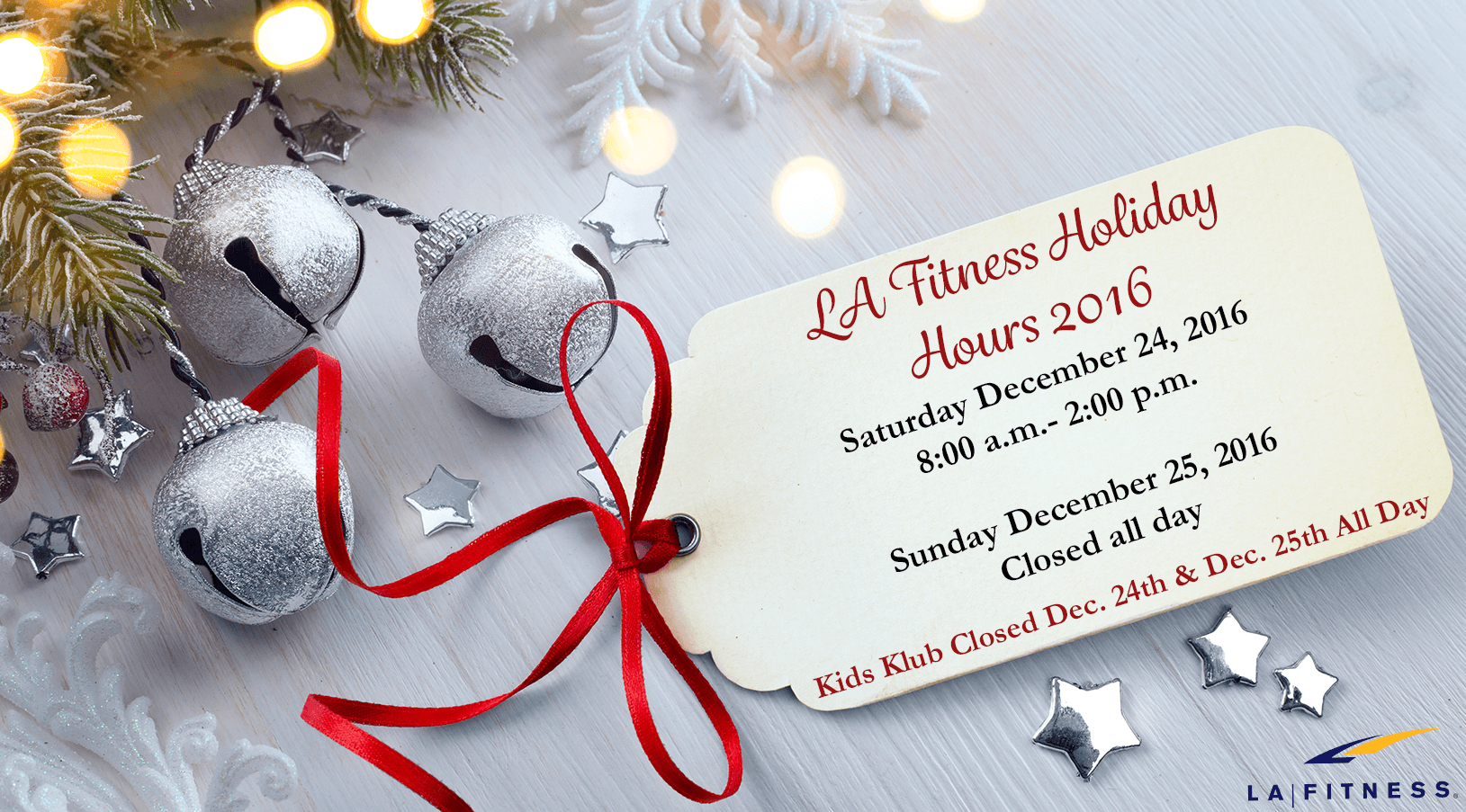 LA fitness christmas hours Archives - The Official Blog of LA Fitness