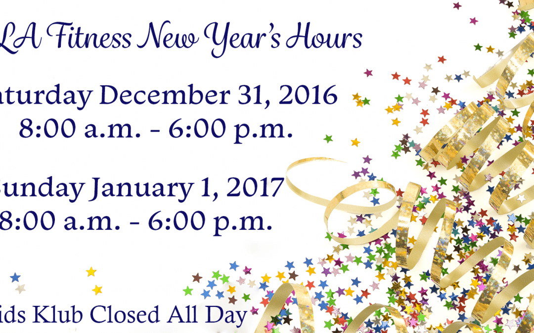 LA Fitness holiday hours Archives - The Official Blog of LA Fitness