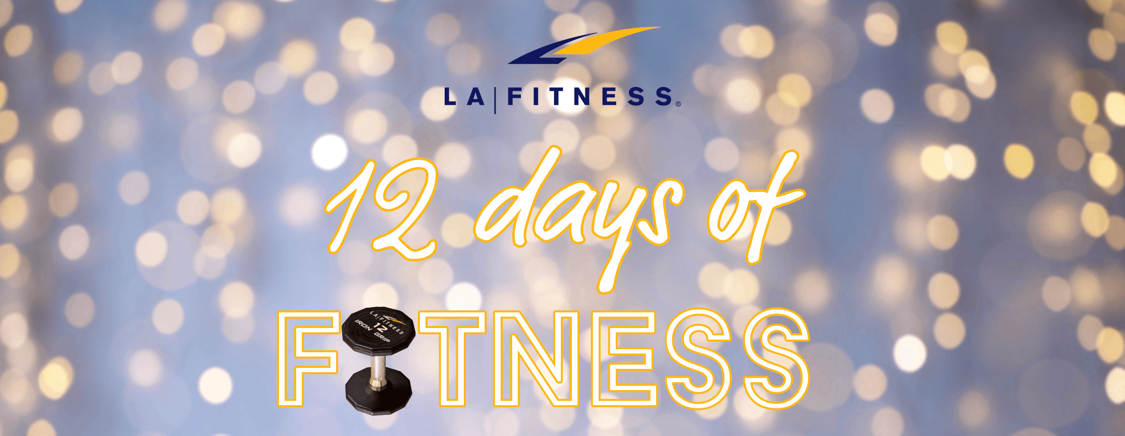 12 Days of LA Fitness Challenge | Workouts for the Holidays