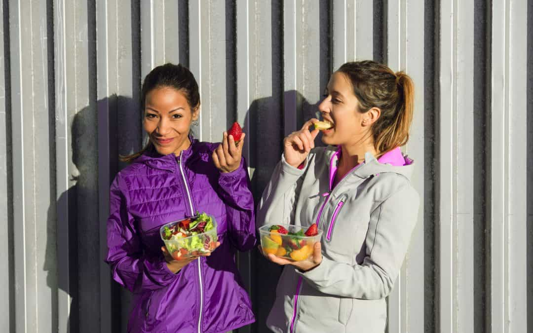 Share In Good Habits To Keep Fit By Dining With A Friend