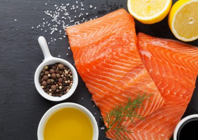 salmon, slamon and spices, health food, healthy nutrition, LA Fitness Living Healthy blog, fitness foods