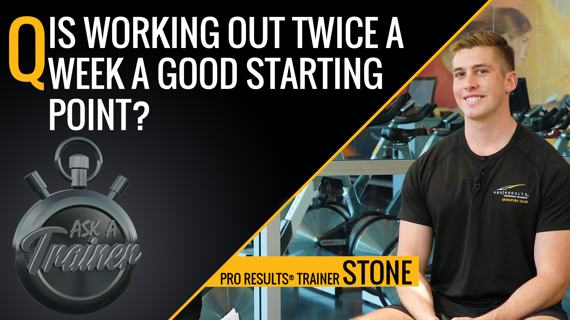 AAT: Ep. 23 – Is Working Out Twice a Week a Good Starting Point?