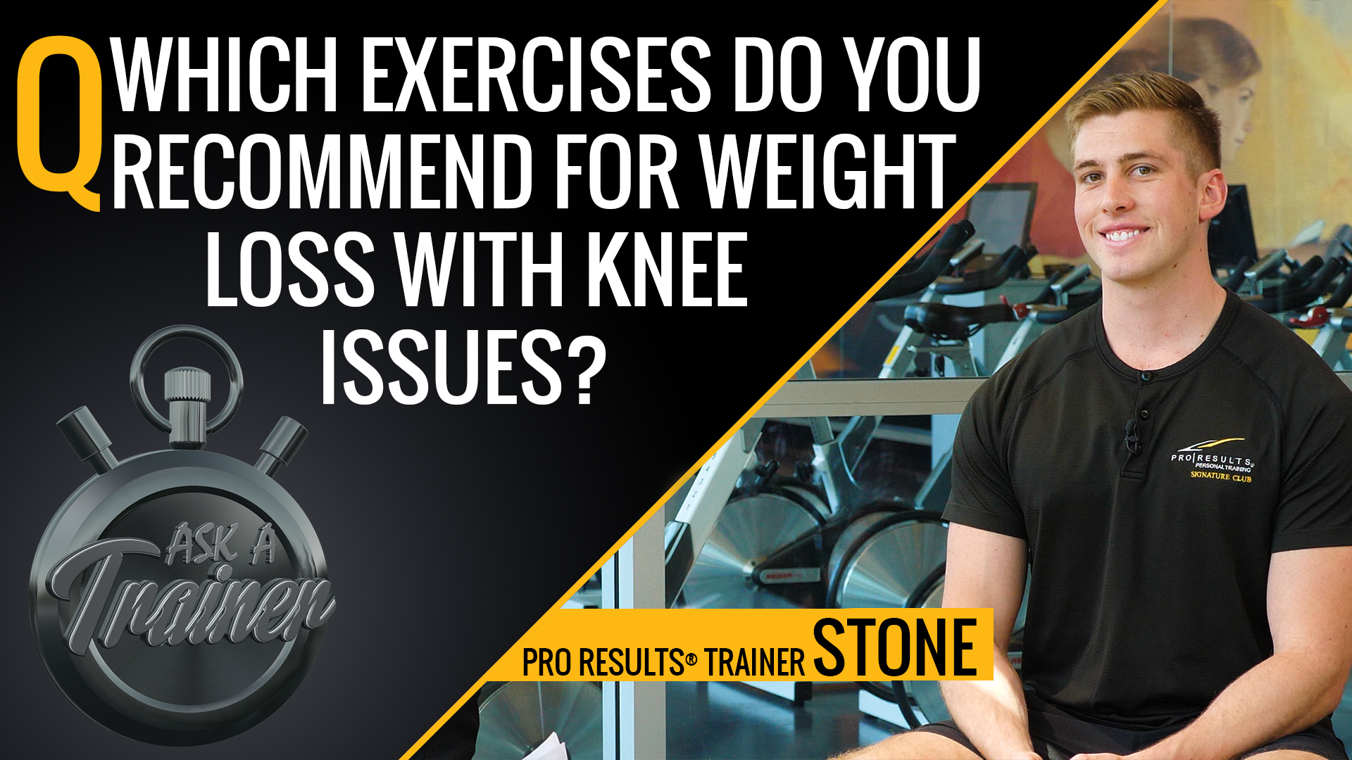 AAT: Ep. 29 – What Exercises Do You Recommend for Weight Loss with Knee Issues?