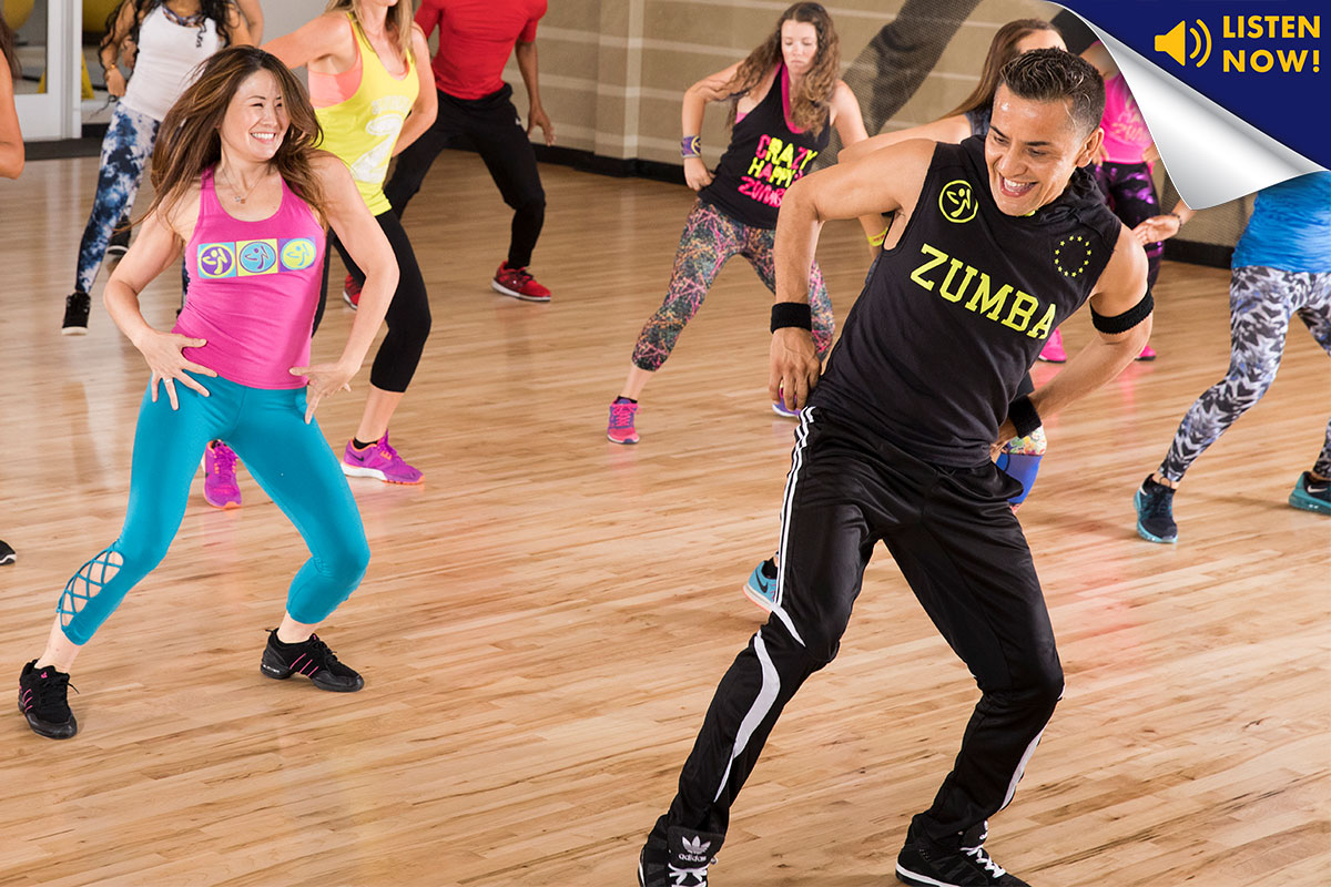Zumba, cardio fitness, Living Healthy, LA Fitness Living Healthy, LA Fitness Living Healthy Podcast, podcast, laf podcast