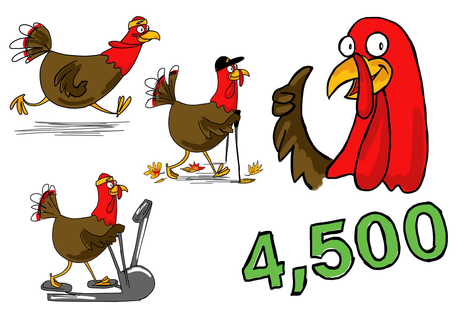 LAF, LA Fitness, Thanksgiving, LA FItness Turkey Trot Challenge, fitness