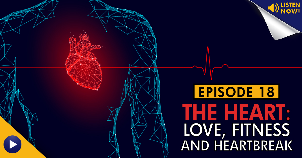LAF, LA Fitness, Living Healthy, Living Healthy Podcast, LHP, heart, heart disease, Kaiser Permanente, American Heart Association, AHA, heart health, health tips, heartbreak, overcoming loss, fitness tips, nutrition tips, healthy living