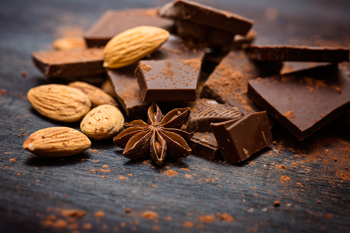 What Dark Chocolate and Almonds Can Do for Your Health
